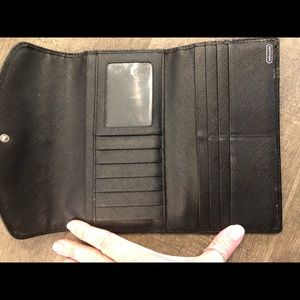 Coach Bags - SOLD ! Authentic Coach wallet and checkbook